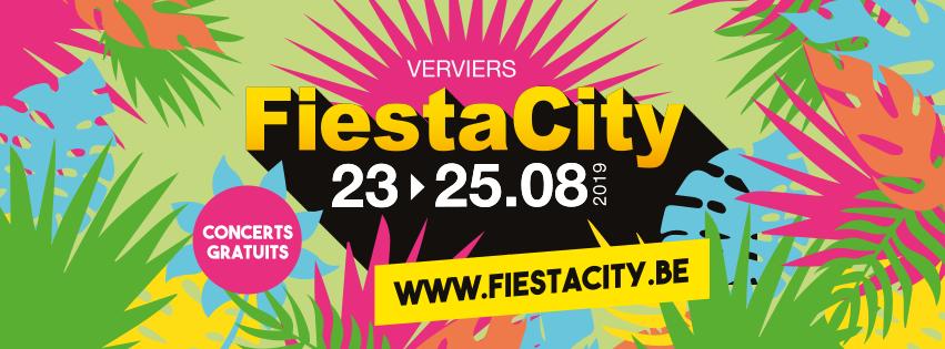 Fiestacity - Verviers - Affiche