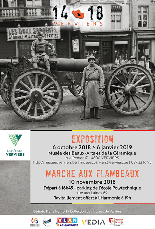 Verviers - Exposition 14-18 - Affiche