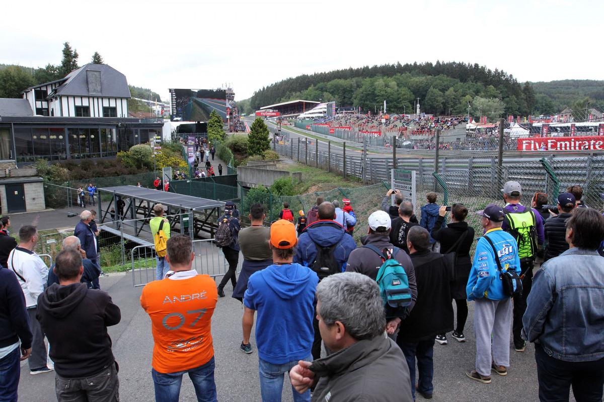 Grand Prix - Fancorchamps - Spectateurs