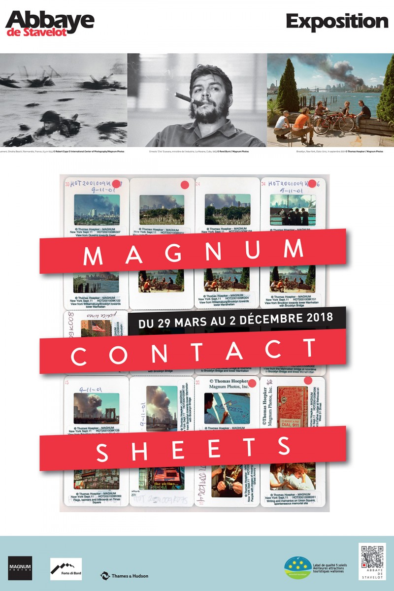 Exposition Magnum Contact Sheets - Affiche
