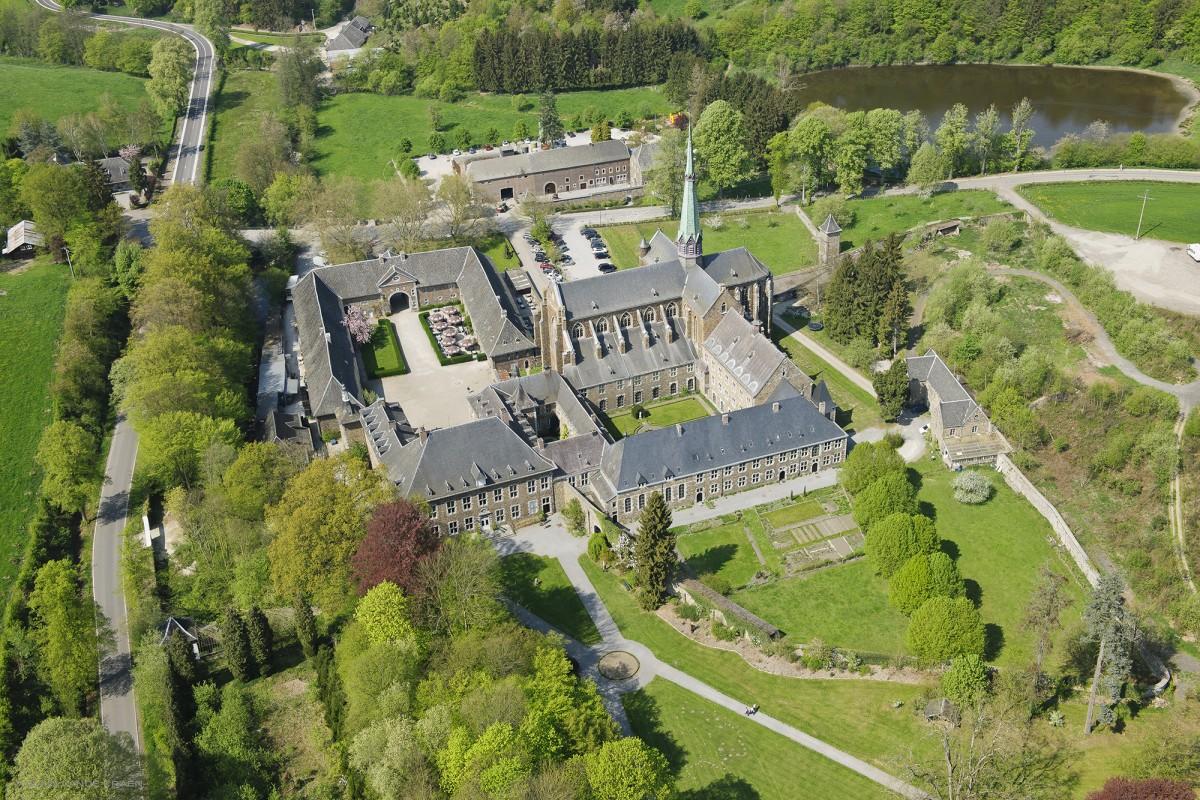 Abbaye du Val-Dieu - Aubel - vue aérienne