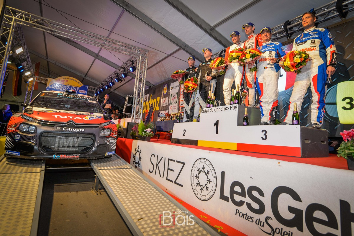 Rallye du Condroz - Podium