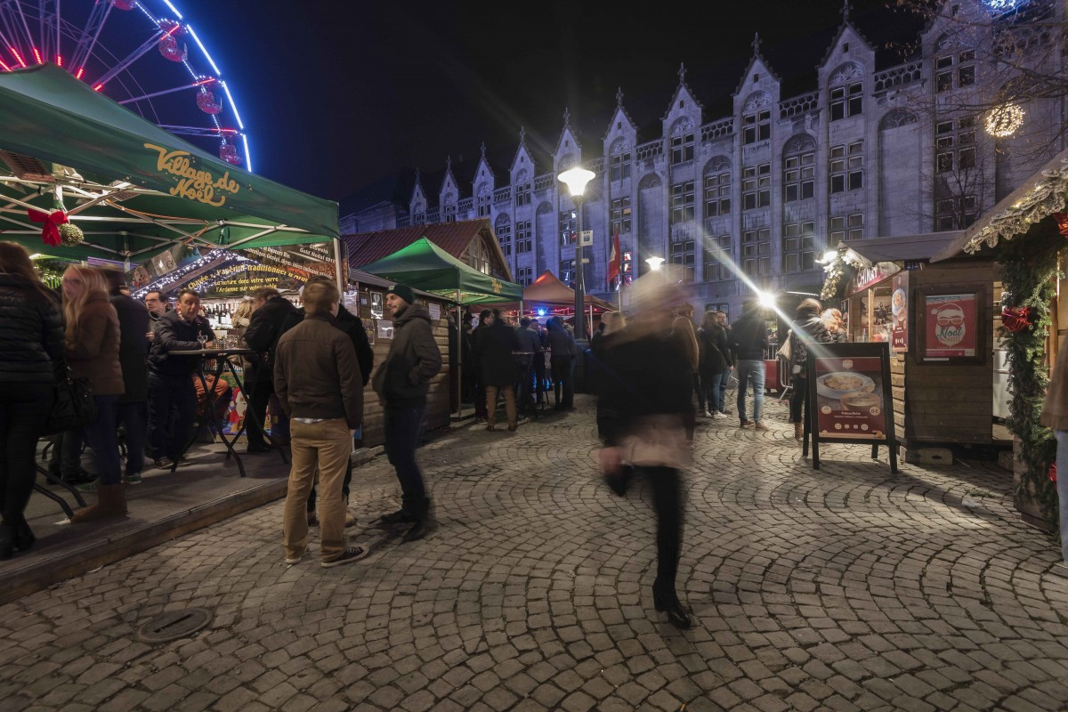 Liège - Marché de Noël de Liège - Espace Tivoli