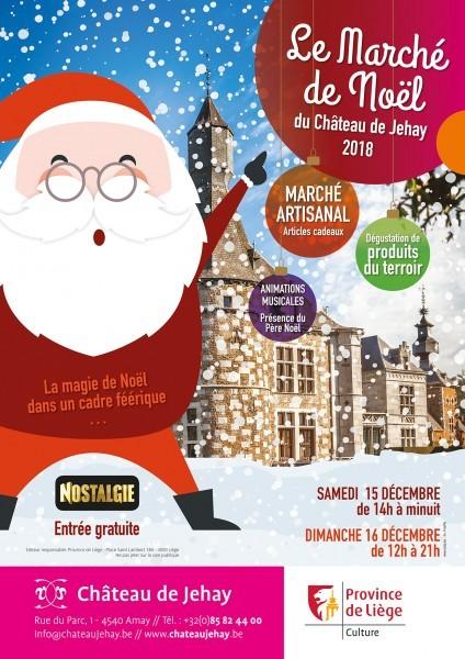Jehay - Marché de Noël - Affiche 2018