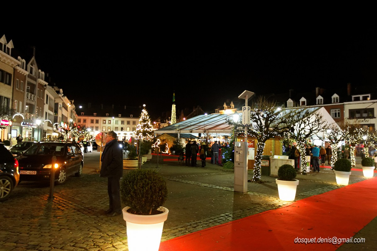 Marché de Noël - Malmedy - Place Albert Ier