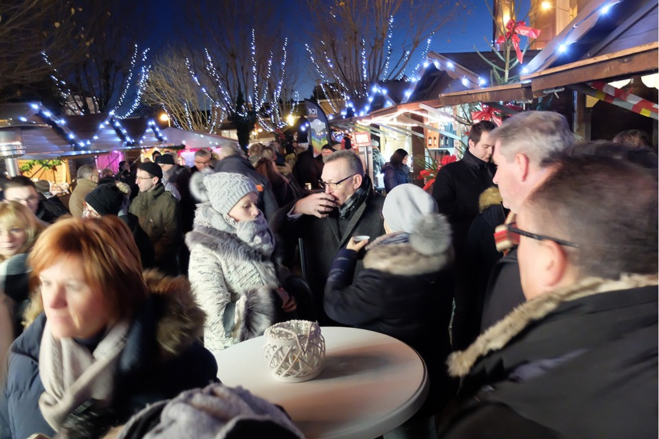 Marché de Noël - la Calamine - dégustations de produits artisanaux