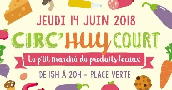 Circ'Huy Court - Huy - Affiche