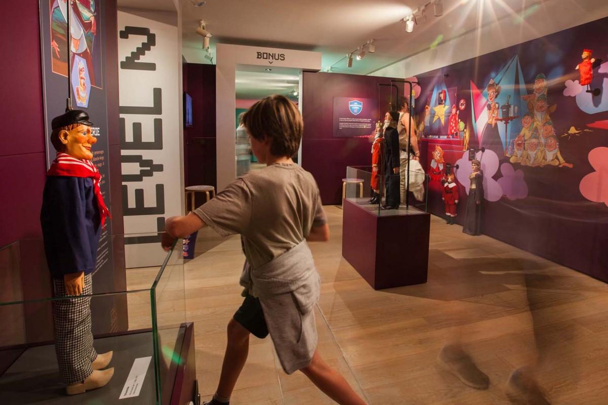 Liège - Musée de la Vie wallonne - Super Marionnettes