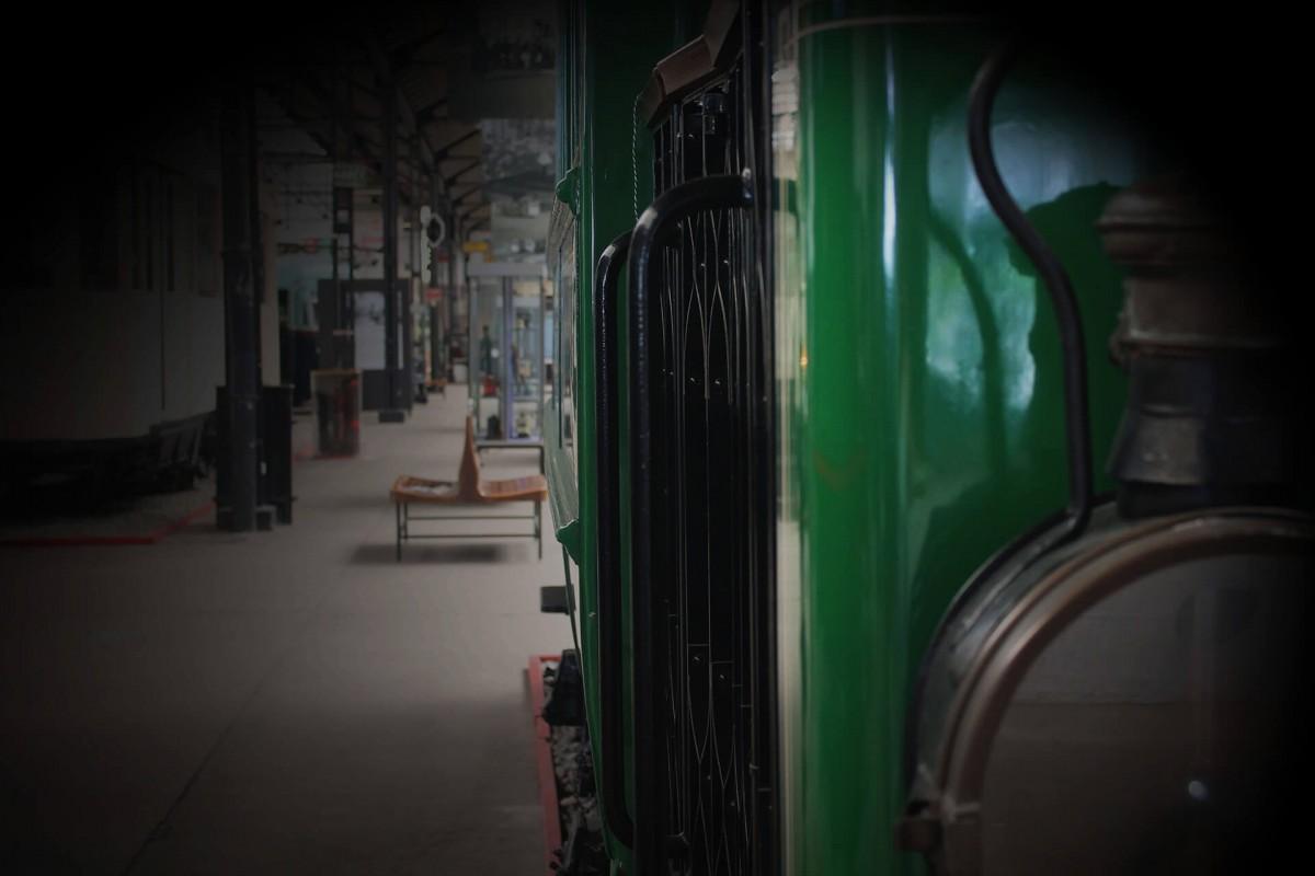 Escape Game - Musée des Transports en commun - corridor flou