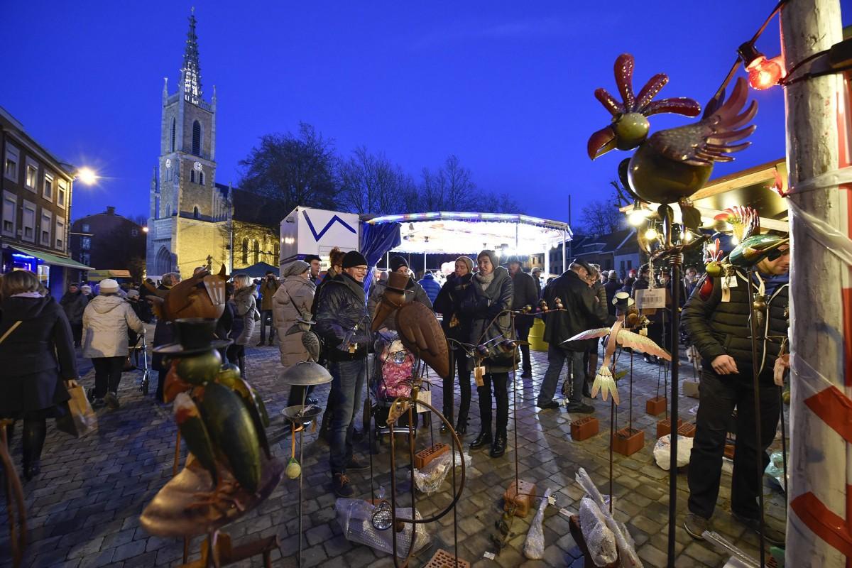 Marché de Noël - Eupen - Chalets