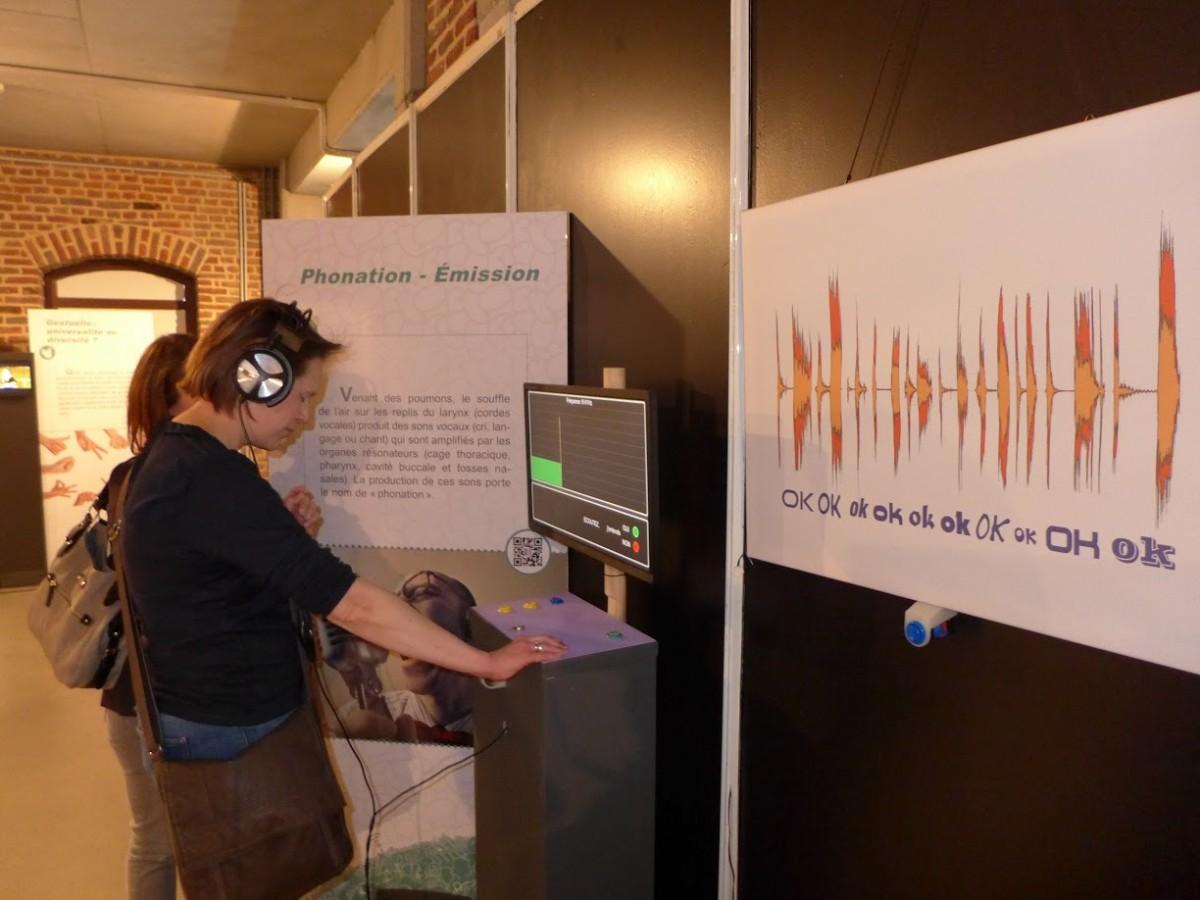 Exposition Bla Bla Bla un monde de communications - Liège - Salle