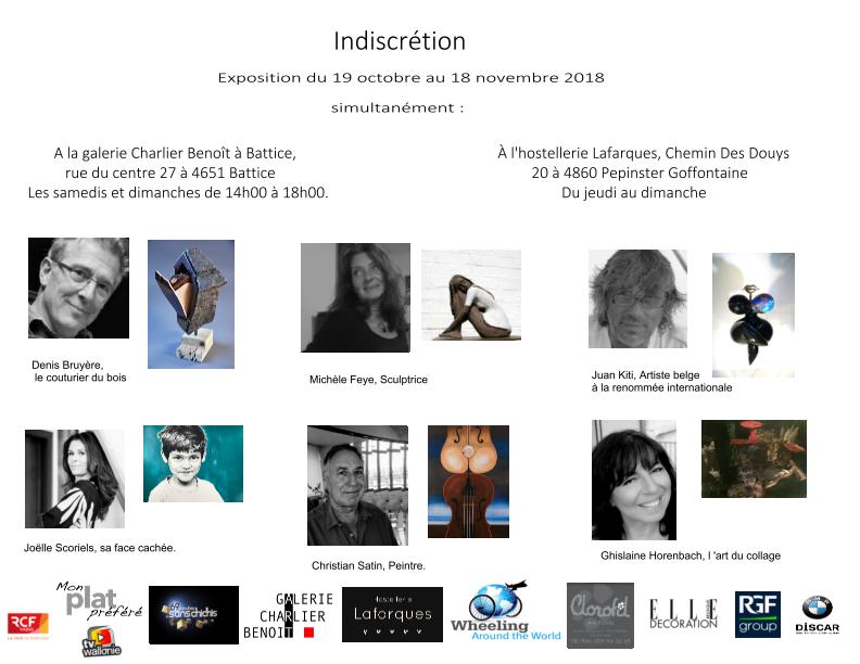 Battice - Exposition Indiscretion