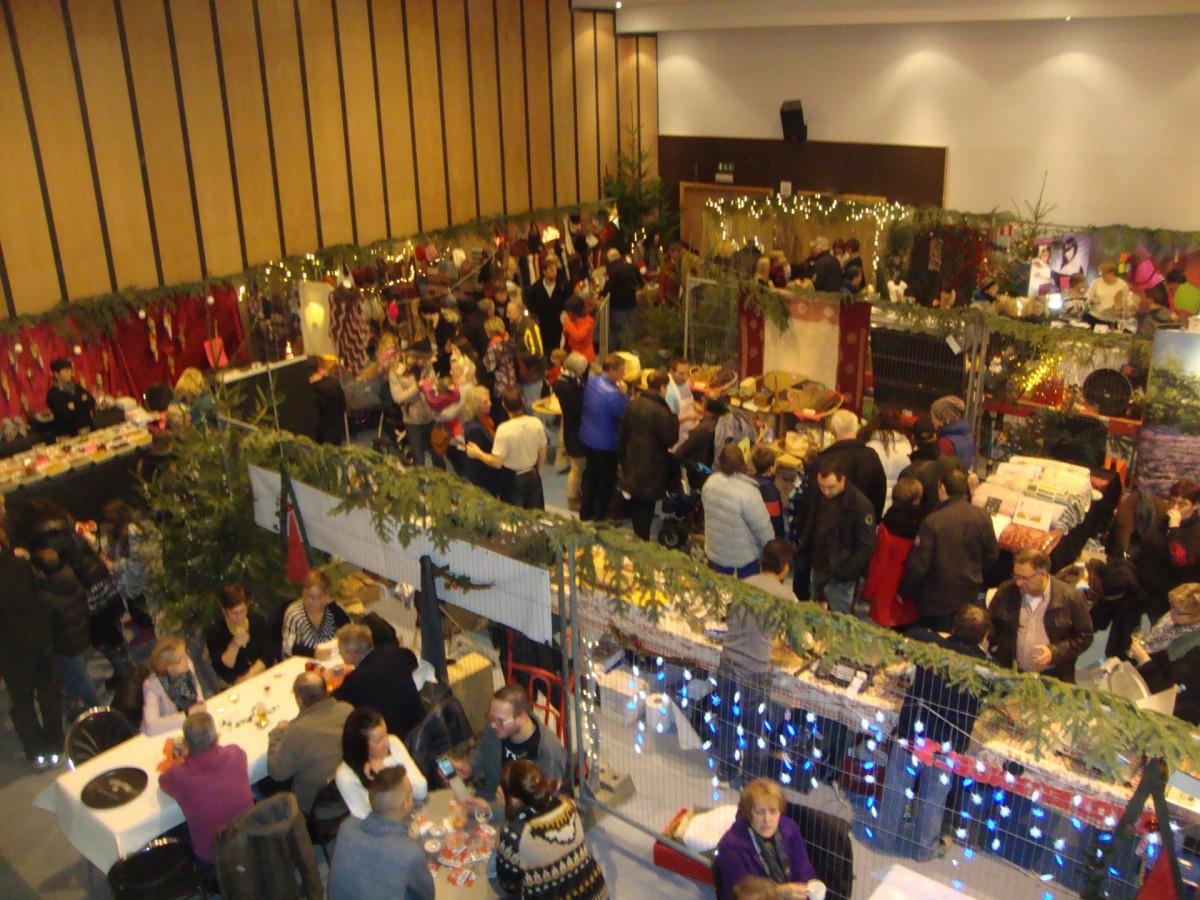 Waimes - Marché de Noël - Salle Oberbayern