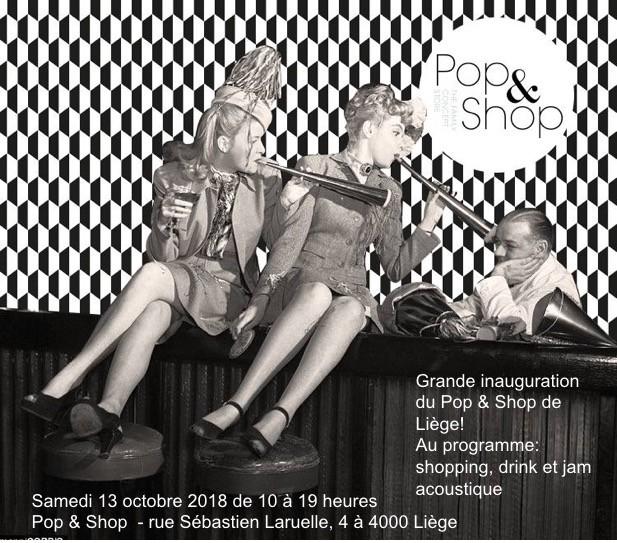 Magasin éphémère - Pop&Shop Liege