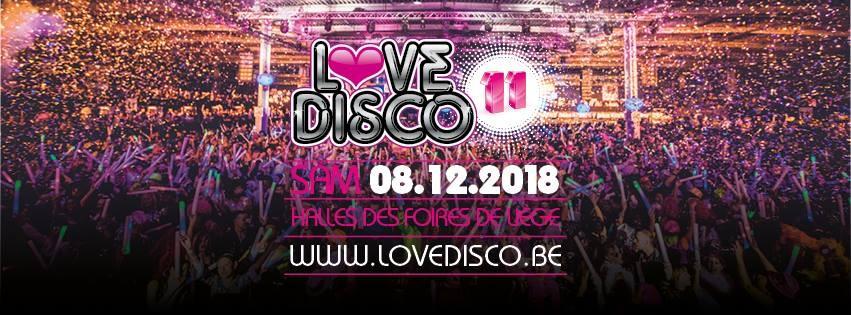 Liège - Love Disco - Affiche 2018