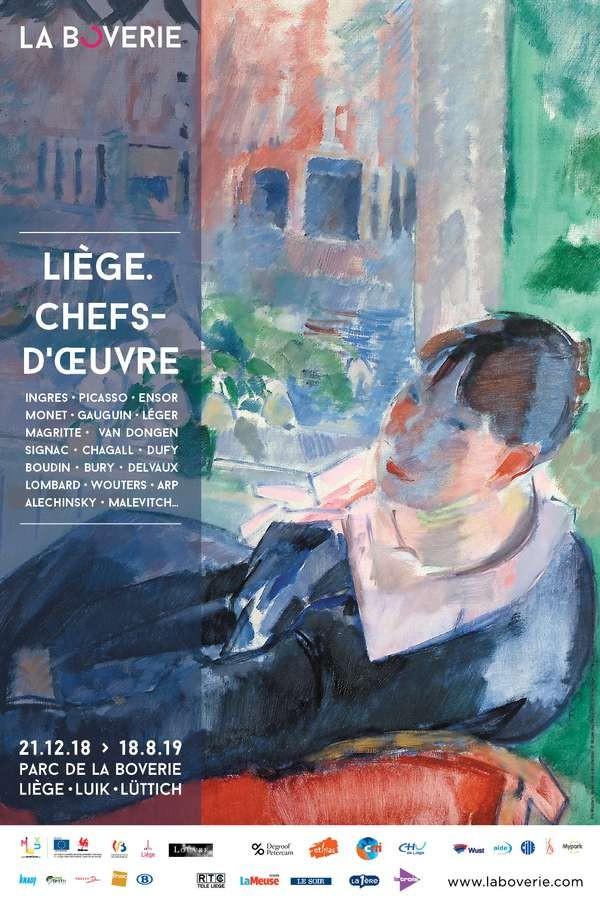 Liège - La Boverie - Exposition Liège. chefs-d'oeuvre