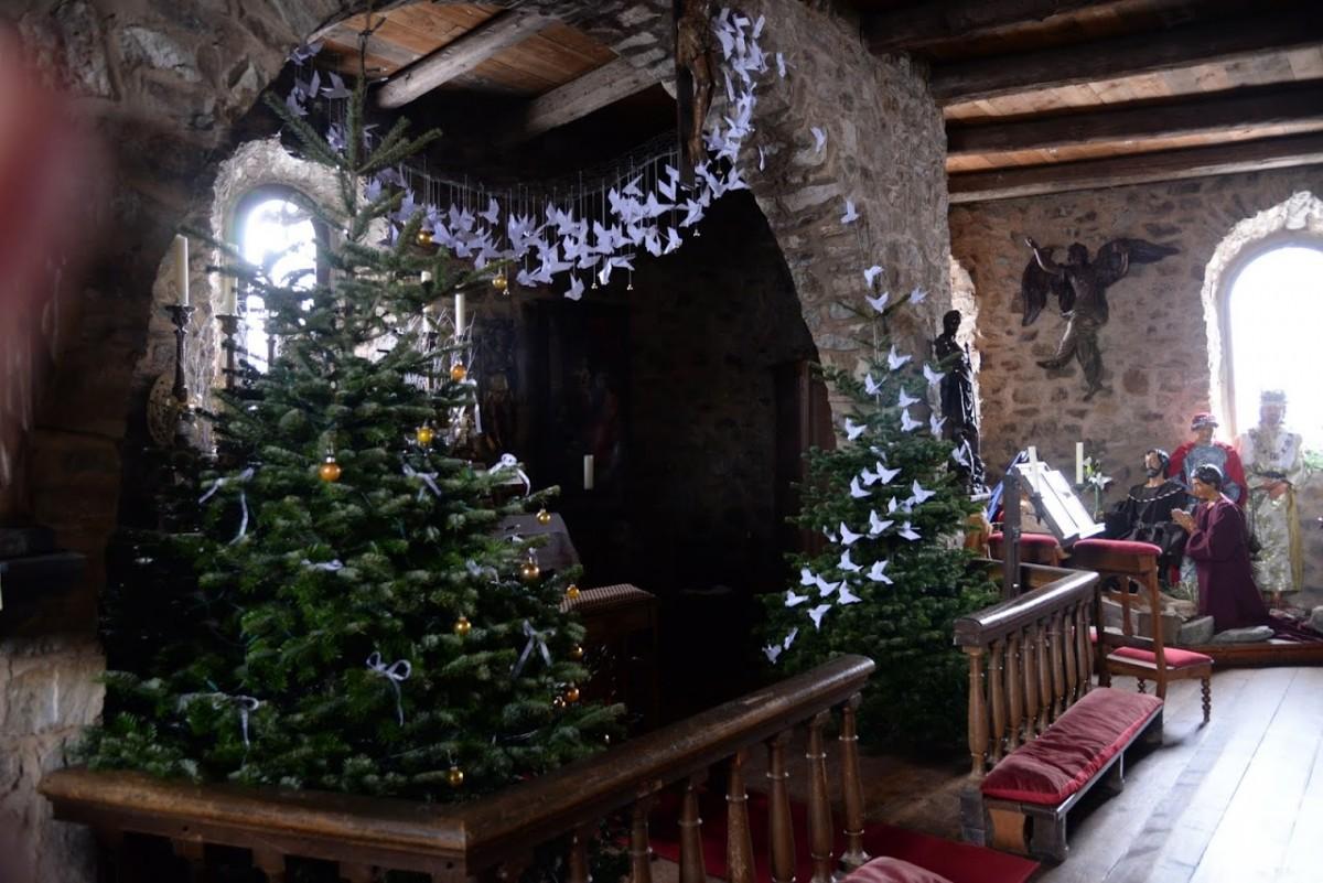 Ovifat - Château de Reinharstein - décos de Noël