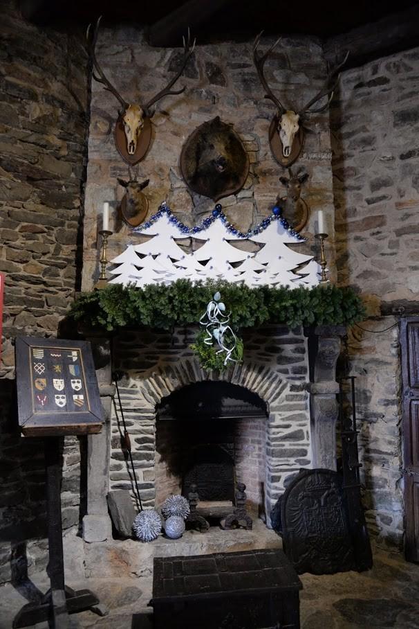Ovifat - Reinhardstein - décos de Noël