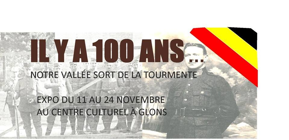 Expo 100 ans - Bassenge - Affiche