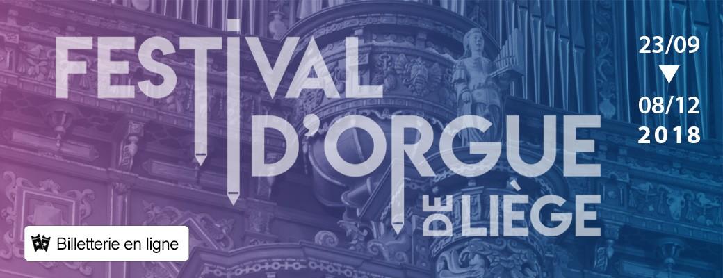 Liège - Festival d'orgue - Bannière