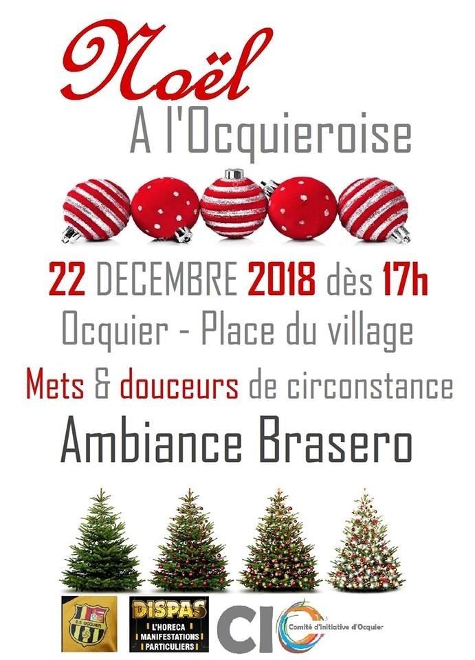 Marché de Noël - Ocquier - Affiche/Logo