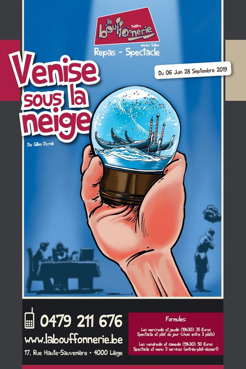 La Bouffonnerie - Venise sous la neige - Liège