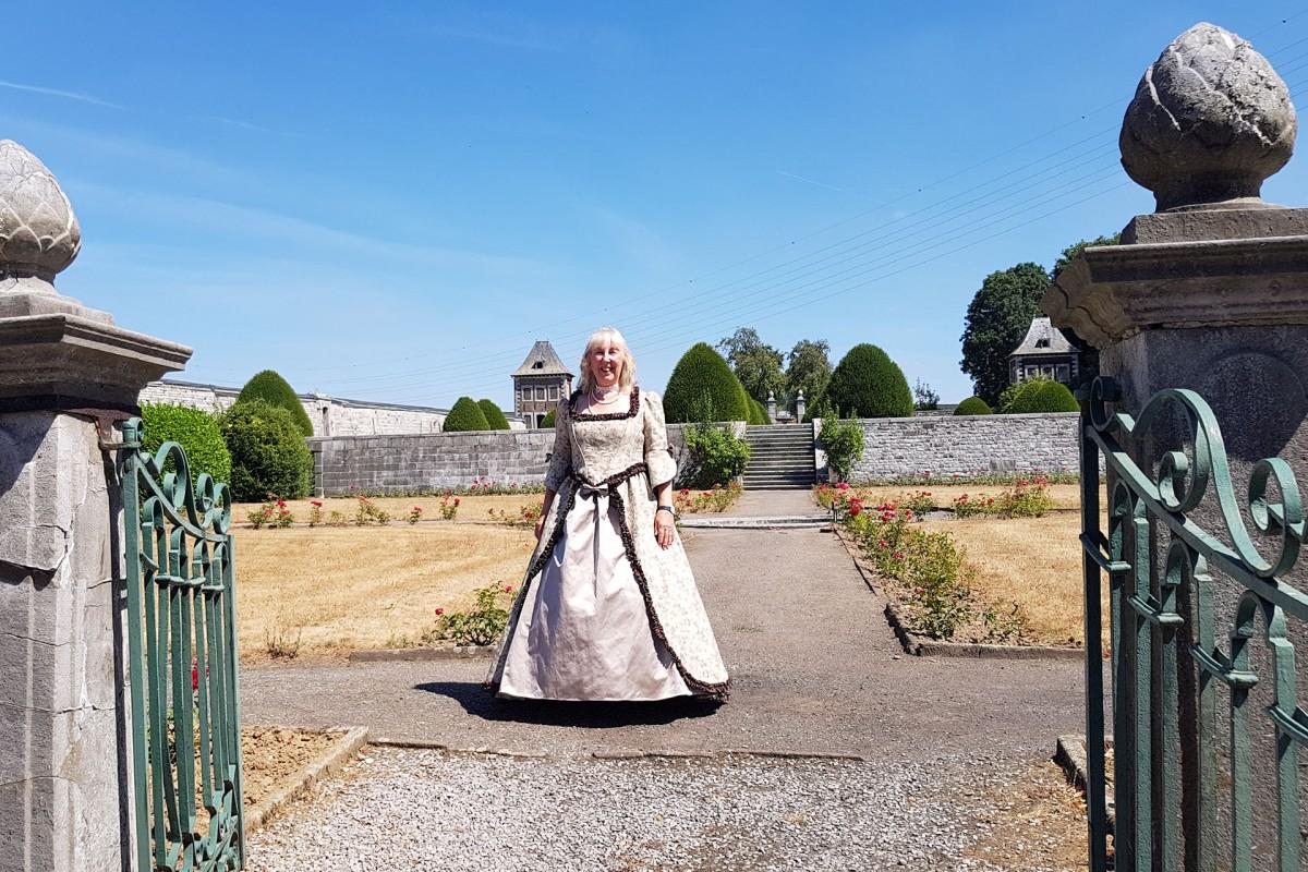 Flémalle - Château d'Aigremont - visite théâtralisée du 18e siècle
