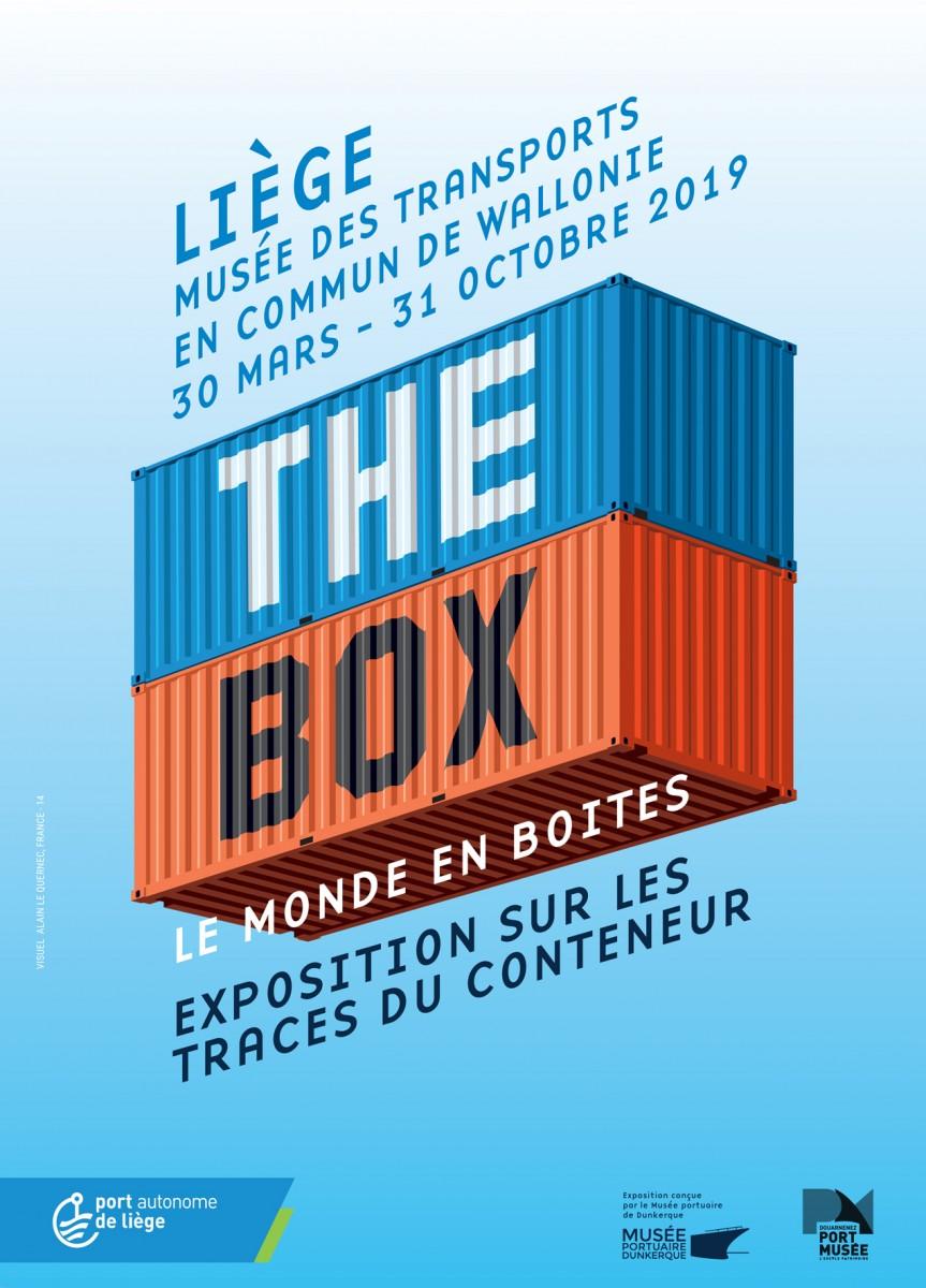 Liège - Musée des Transports en commun de Wallonie - Exposition : The box, le monde en boîtes