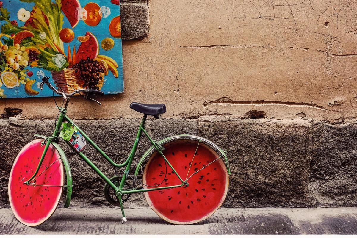 Balade à vélo du Gracq Basse-Meuse - Balade Bio - Illustration