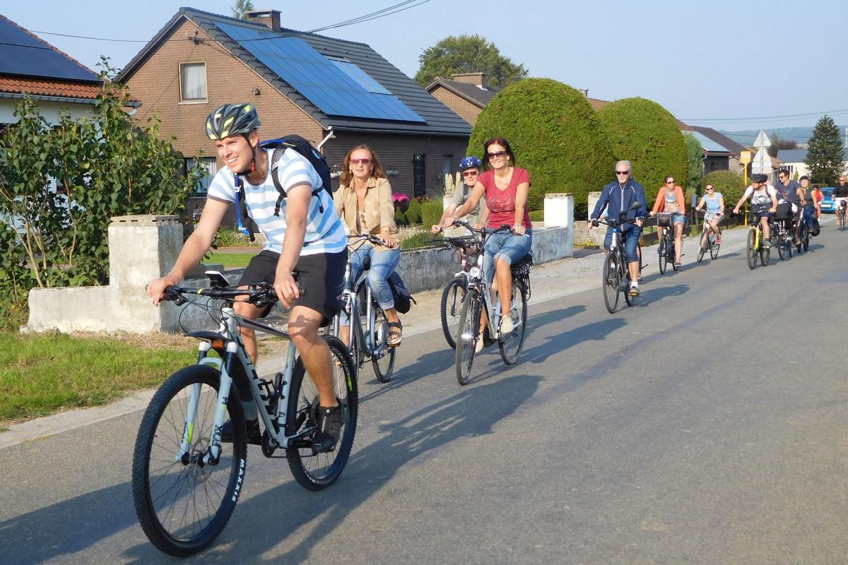 Balade à vélo du Gracq Basse-Meuse - La balade du patrimoine