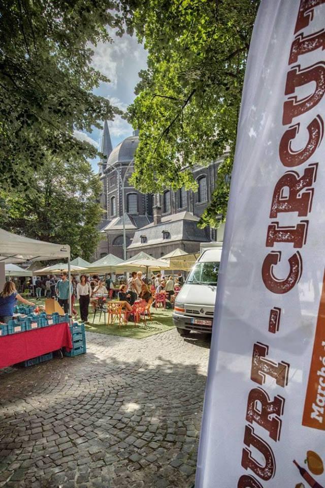Marché - Liège - Affiche