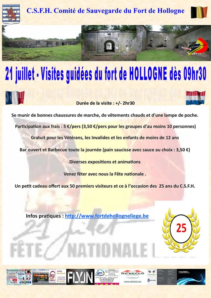Fort de Hollogne - Grâce-Hollogne - Affiche