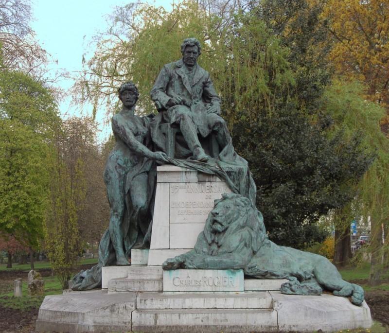 Liège - Parc Avroy - Monument Charles Rogier