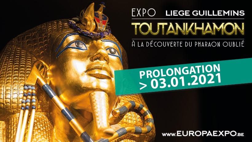 Expo Toutankhamon - Liège - Affiche