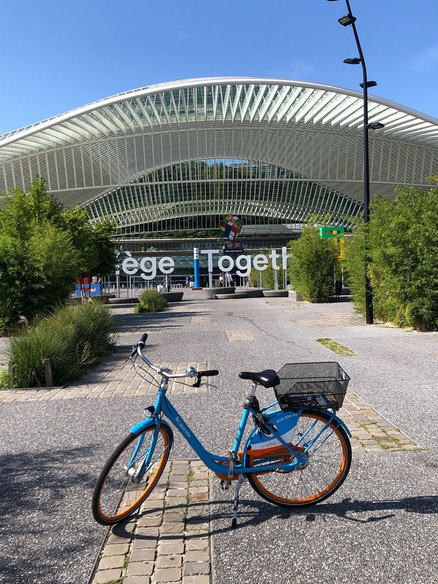 Liege Bike Tour - Liège - Gare des Guillemins