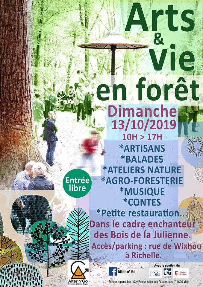 Arts et vie en forêt