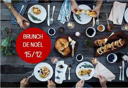 Brunch Noël Forest'Bar - Theux - Affiche/Logo