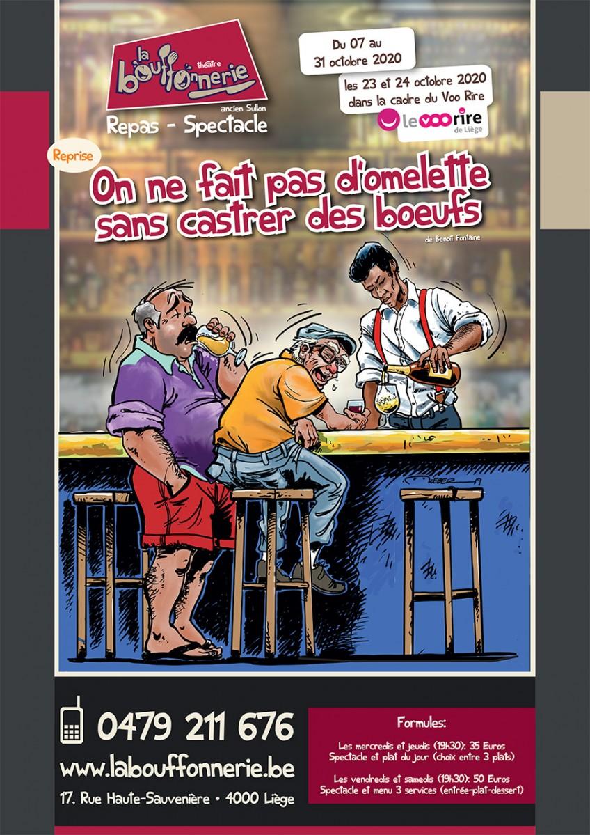 La Bouffonnerie - Liège - Affiche