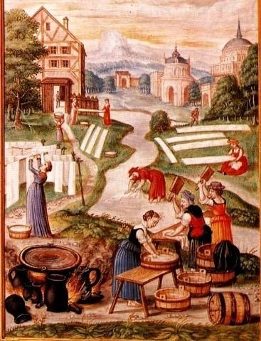 La lessive de l'antiquité à nos jours