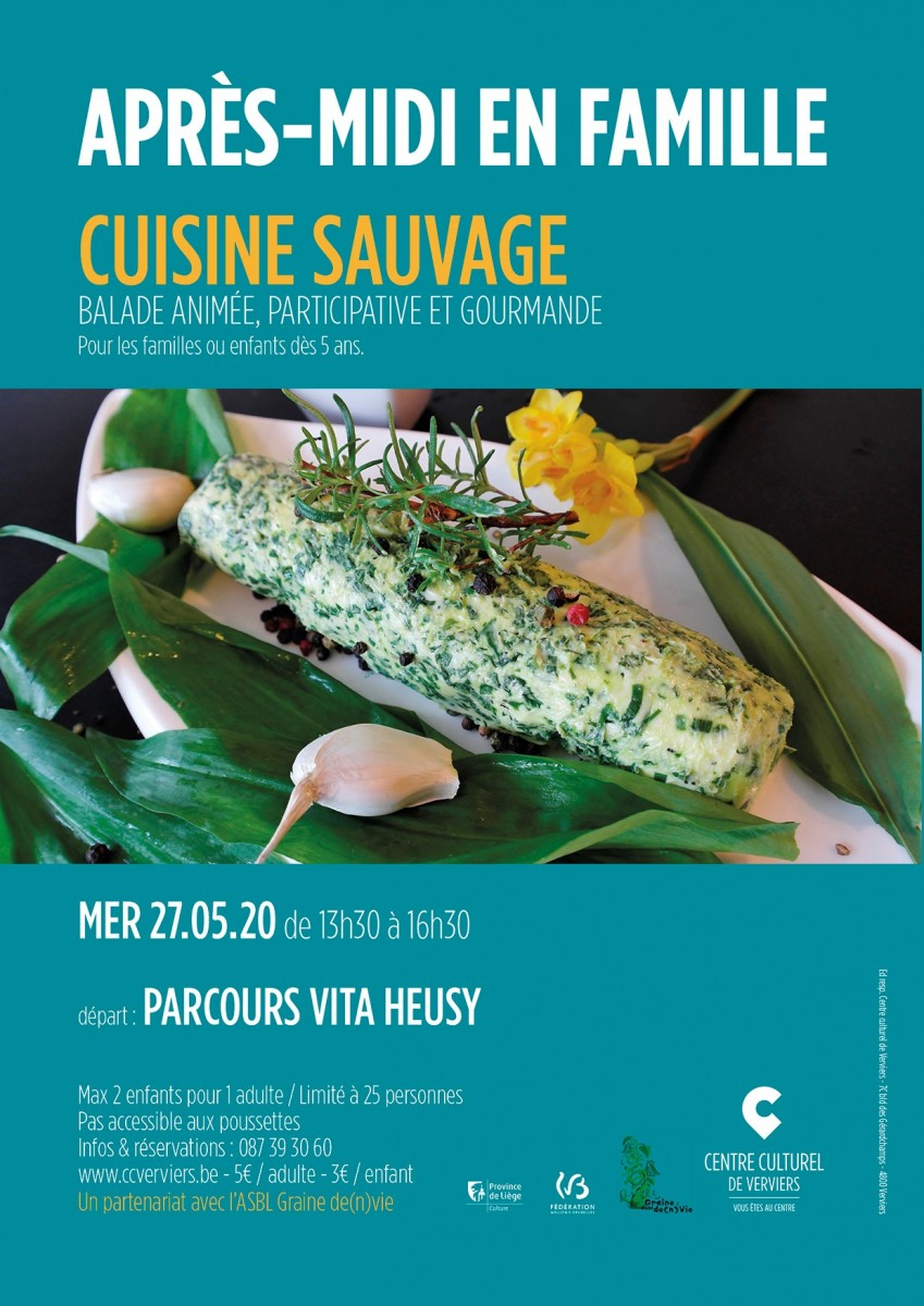 Affiche Cuisine sauvage