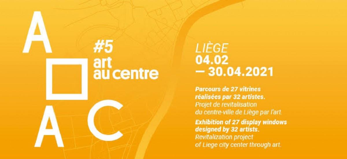 Art Au Centre #5 - Affiche