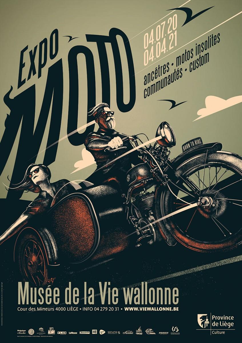 M.V.W. - Expo Moto - Affiche