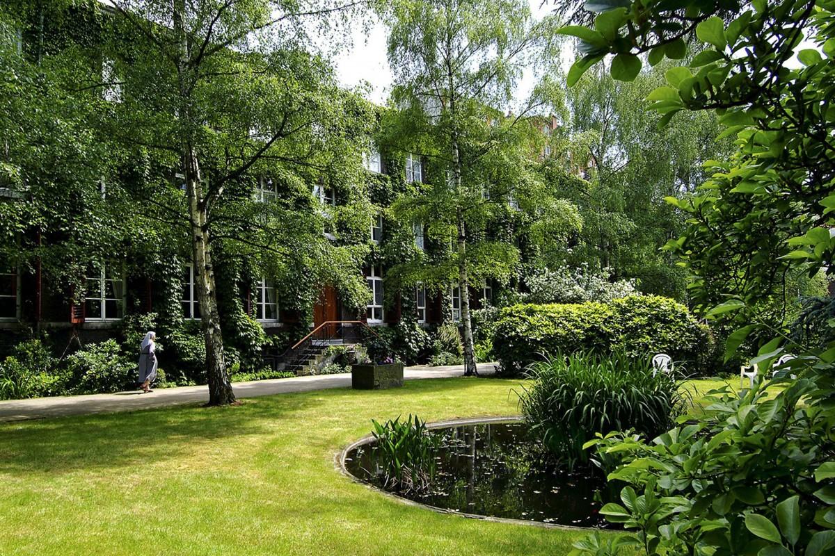 La place des jardins en ville © Office du tourisme de Liège