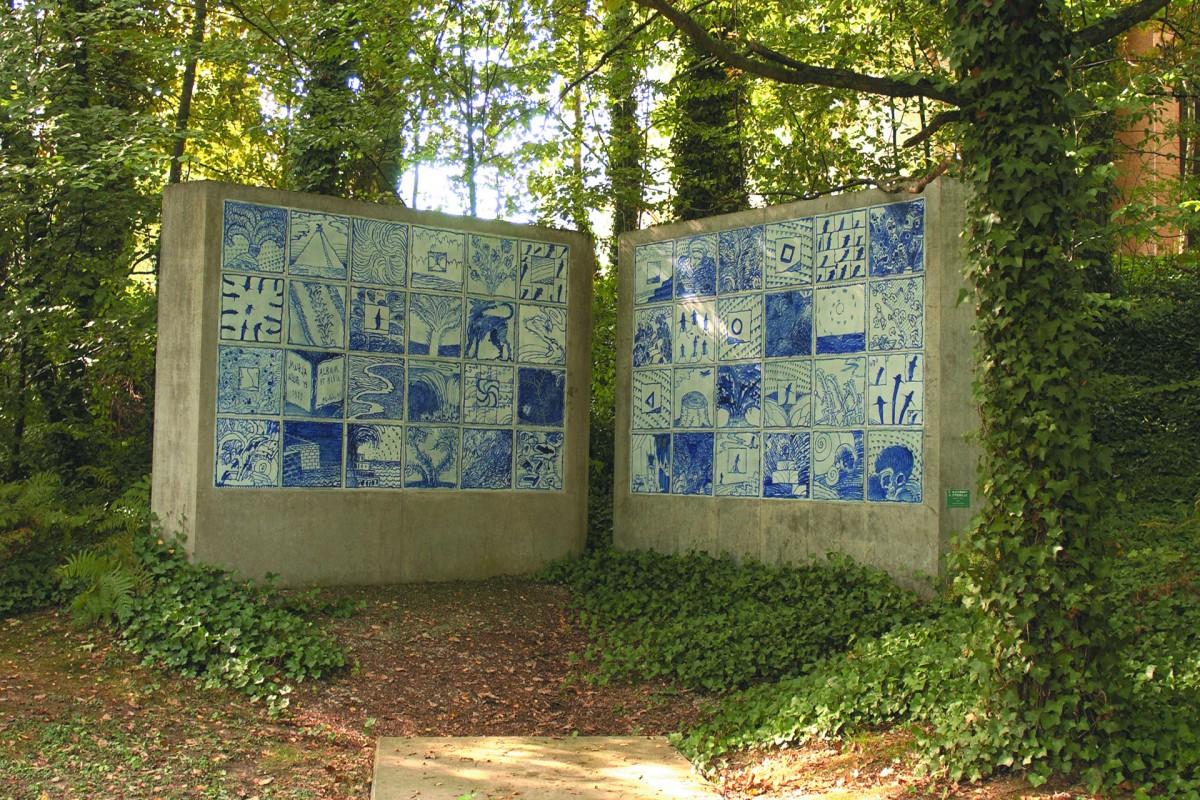 Balades au Sart Tilman : 5 circuits Art, Nature et Architecture - Alechinsky Album