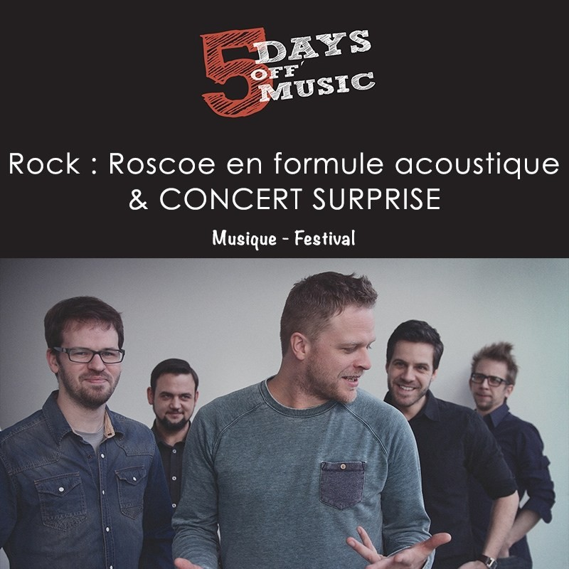 5 days of music - roscoe