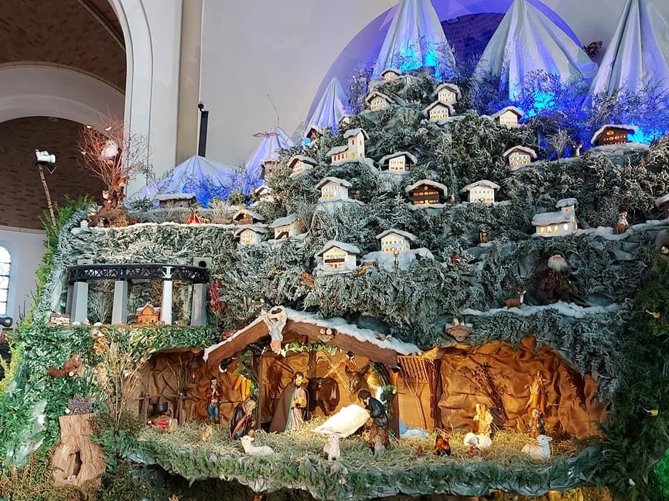 Visite de la grande crèche animée et musicale @Crèche de Noël Plombières