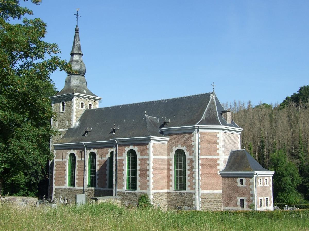 Visite libre de l'église Saint-Apollinaire ©Gilbert Lesoinne 03-2021