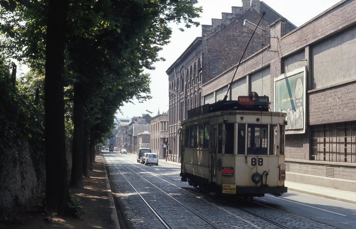 Tram à Verviers