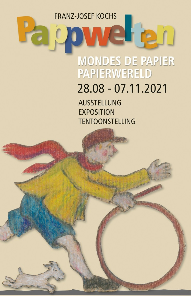 Affiche expo Pappwelten