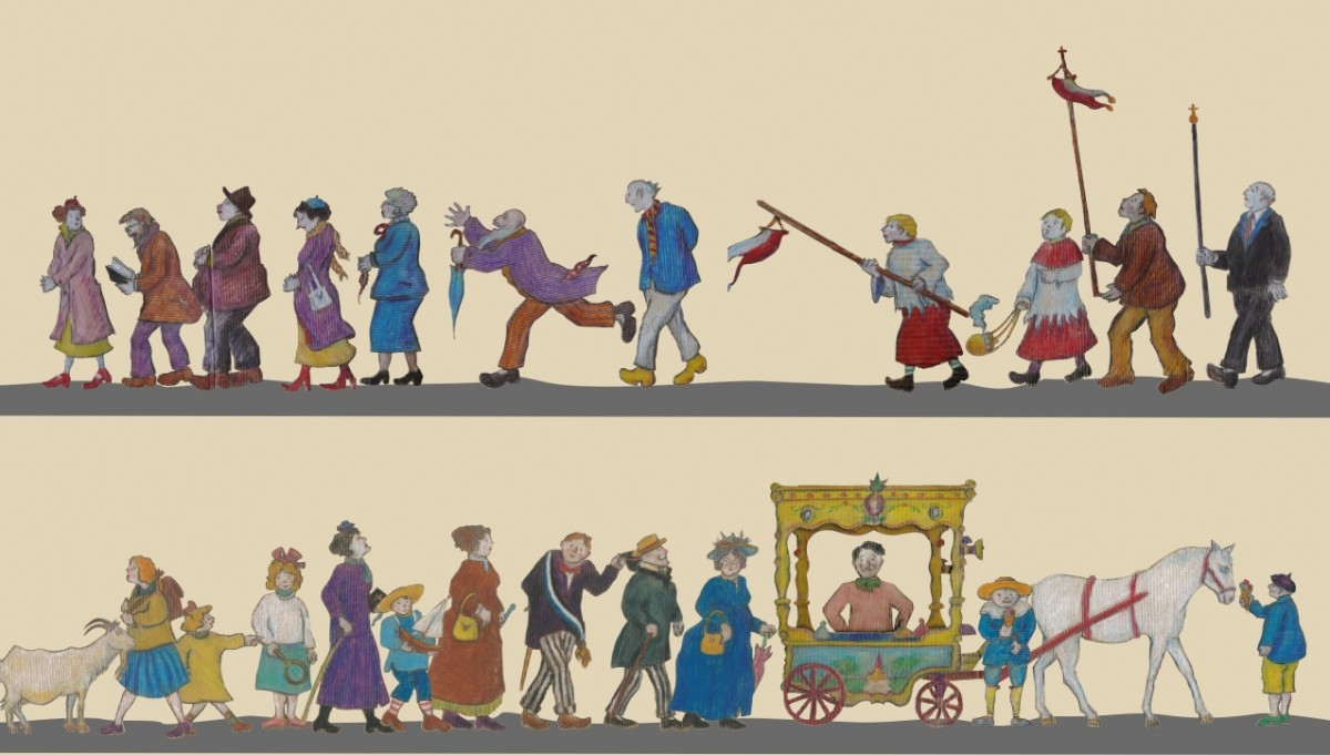 Affiche horizontale - Pappwelten Franz-Josef Kochs